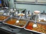 ミャンマーのよくある食堂スタイル