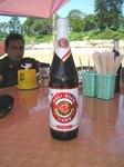ミャンマー北部ミッチーナで中国ビール、大理