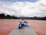 ラオス,メコン川、スローボート