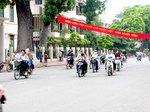 ベトナム、ハノイの交通風景