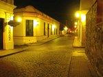 ウルグアイ、世界遺産コロニア旧市街の夜景